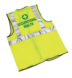 Hi Viz Occupational Health Coat (Various sizes)
