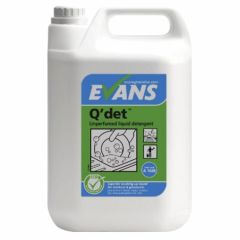 Evans Q'det Unperfumed Washing Up Liquid (5 Litre)