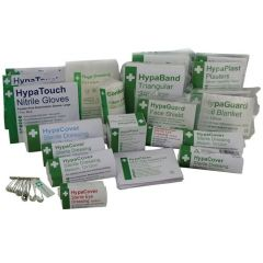 HSE Value 1-10 Persons First Aid Refill Kit