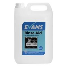 Evans Rinse Aid for Automatic Machines (5 Litre)