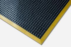 Ergotred Safety Mat in Black and Yellow 90cm x 120cm