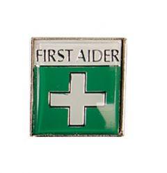Badge (Metal) First Aid (Various packs)