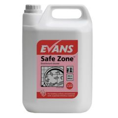 Evans Safe Zone R.T.U. Disinfectant Cleaner (5 Litre)
