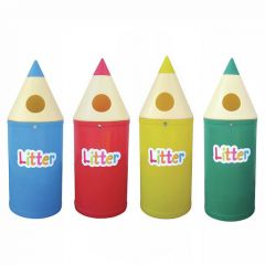 Quirky Pencil Bins in 2 Sizes and a Variety of Colours