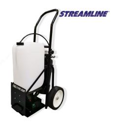 Window Cleaning SteamFlo 25L Portable Trolley System
