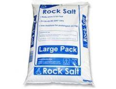 Brown De-icing Rock Salt 23kg Bag