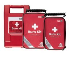 St Johns Ambulance Burns First Aid Kits in Three Sizes