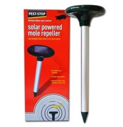 Solar-Powered Mole Repeller
