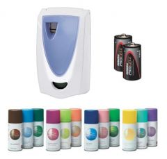 Spa Programmable Air Freshener Starter Pack