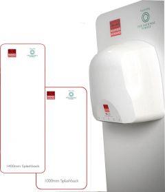 Warner Howard Splash Backs for Hand Dryers