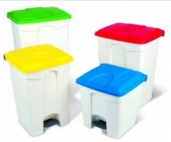 Step On Container Pedal Bin 30 Litre With Colour Options
