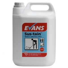 Evans Sus-tain Medium Solids Floor Polish (5 Litre)