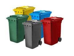 Trojan 360 Litre Wheelie Bin (Various Colours)