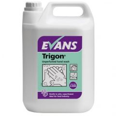 Evans Trigon Unperfumed Hand Wash (5 Litre)