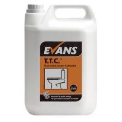 Evans T.T.C. Thick Toilet Cleaner and Descaler (1 x 5 Litre)