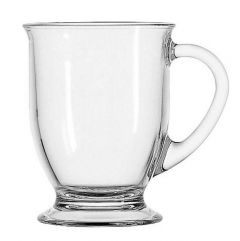 Glass Coffee Mugs (Pack of 6)