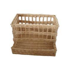 "Basket Ware - Small Dispenser Basket 16"" x 20"" x 14"""