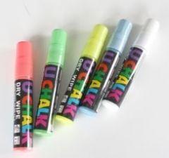 U Chalk Large Pens Dry Wipe/Wet Wipe (Pack of 5)