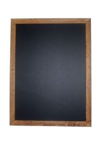 Chalkboard with Antique Finish Wooden Frame 600 x 800mm
