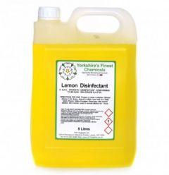 Yorkshire's Finest Chemicals- Lemon Disinfectant (5 Litre)