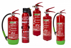 Firechief Lith-Ex Extinguisher - All Sizes
