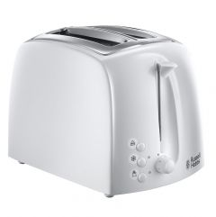 Russell Hobs Textures 2 Slice Toaster White