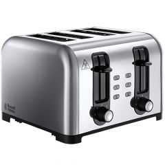 Russell Hobbs Cantebury 4 Slice Dual Finish Toaster