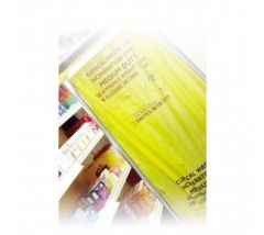 Yellow Small Medium Duty Clinical Waste Bag 120g (Roll of 50)