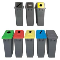 Recycling Lids for the 60L & 80L Slimline Grey Recycling Bins