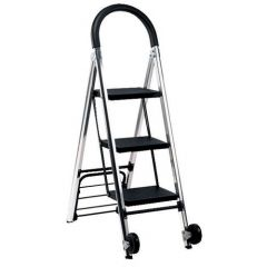 Combination Step Sack Truck Silver