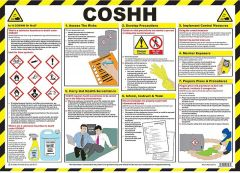 COSHH Laminated Poster