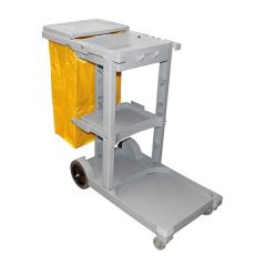 Janitors Cleaning Cart / Trolley With PVC Bag