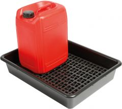 Spill Trays with Removable Base Grids (Various Sizes)