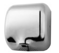 e-Dryer Ultimate Automatic Hand Dryer in White or Chrome Finish
