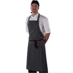 Dennys Full Bib Striped Apron