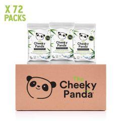Cheeky Panda Biodegradable Bamboo 12 Handy Wipes X 72 Packs