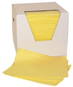 Premier Single Weight Chemical Absorbent Pads