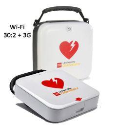 LIFEPAK® CR2 Wi-Fi 30.2 +3G Semi Automatic AED & Carry Case
