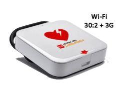 LIFEPAK® CR2 Fully Automatic AED Defibrillator Wi-Fi 30.2 + 3G