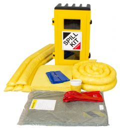 80 Litre Vehicle Specific Exterior Cab Chemical Spill Kits in Cabinet