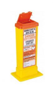 Orange Lid Sharps Bin 0.5 Litre (Case of 60)