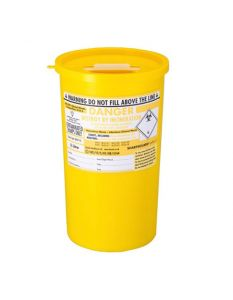 Yellow Lid Sharps Bin 5 Litre (Case of 48)