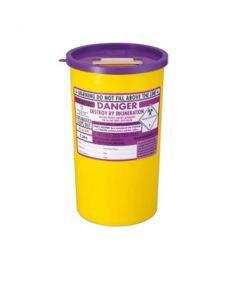 Purple Lid Sharps Bin 5 Litre (Case of 48)