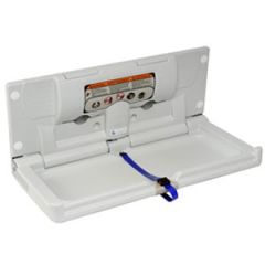 Dolphin Horizontal Baby Changing Unit in White