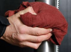 EVO Recycled Workshop Rags- Standard Mixed Coloured Wiping Cloths