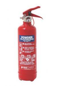 Firechief 600g ABC Powder Extinguisher c/w Wire Bracket (FMP1)
