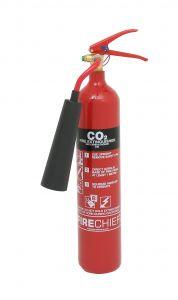 Firechief XTR 2kg CO2 Extinguisher - Steel (FXCD2S)