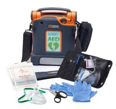 Cardiac Science Powerheart® AED G5 ICPR Semi-Auto Defib Package