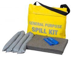 25L or 45L Spill Kits General, Chemical, Oil in a Shoulder Bag