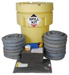 250L General Purpose Spill Kit - Overpack Plug Drain Cover
